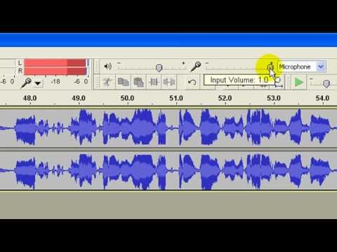 Audacity Settings