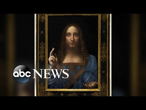 Rare Leonardo masterpiece sells for record $450M