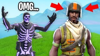 I Found An AERIAL ASSAULT TROOPER and This Happened... (RAREST SKIN IN FORTNITE)