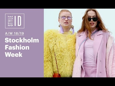 Style ID: Stockholm Fashion Week A/W 18/19