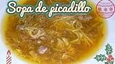 Receta De Sopa De Picadillo Karlos Arguiñano Youtube