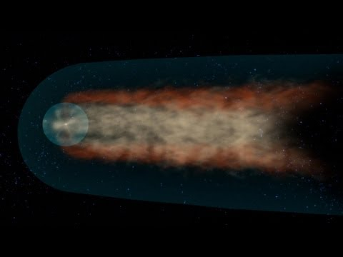 Video: Our solar system's comet-like tail