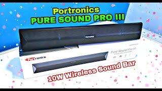 Portronics Pure Sound Pro 3 ( POR-891 ) Unboxing & Review || Sound & Bass Test