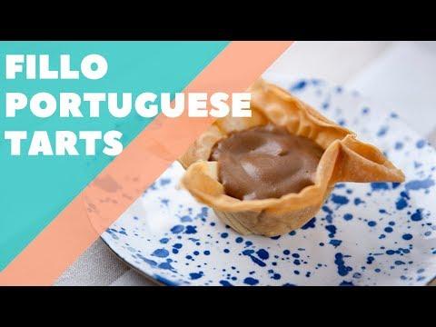 Fillo Portuguese Tarts | Good Chef Bad Chef S10 E26