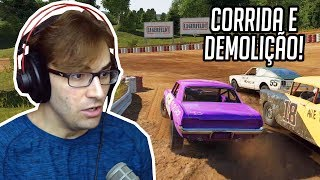 WRECKFEST - Corrida de Destruição / Demolição! Jogo Incrível Finalmente Lançou! (Next Car Game)