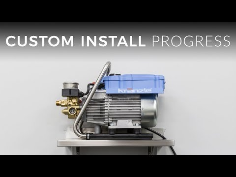 Custom Install Pressure Washer Solution Update