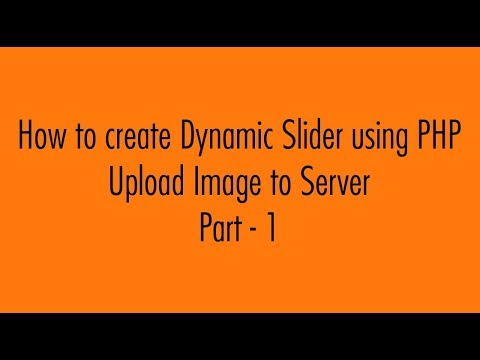 How to Create Dynamic Image Slider Using PHP and Bootstrap