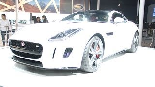 2014 Jaguar F-Type Coupe launch In India | Walkaround !