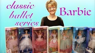 Barbie Classic Ballerina Series Doll Collection