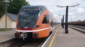 Railways in Estonia - ELRON / Trains in Tallinn and Valga