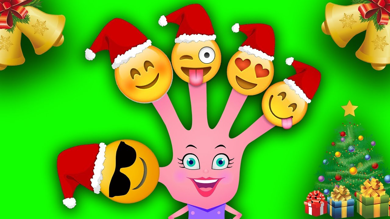 Christmas Emojis.Christmas Song Christmas Emojis Finger Family For Kids And Toddlers Learning Videos For Children