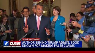 Watch: Author Behind Trump Admin Book Known For Making False Claims