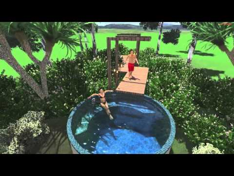 Smart pool package 9 pool tank youtube How to draw swimming pool water
