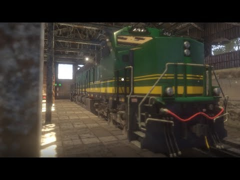 Train Mechanic Simulator 2017 - Burlington Northern  