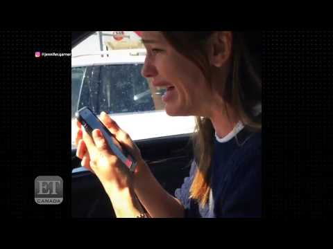 Jennifer Garner Slurs On Laughing Gas