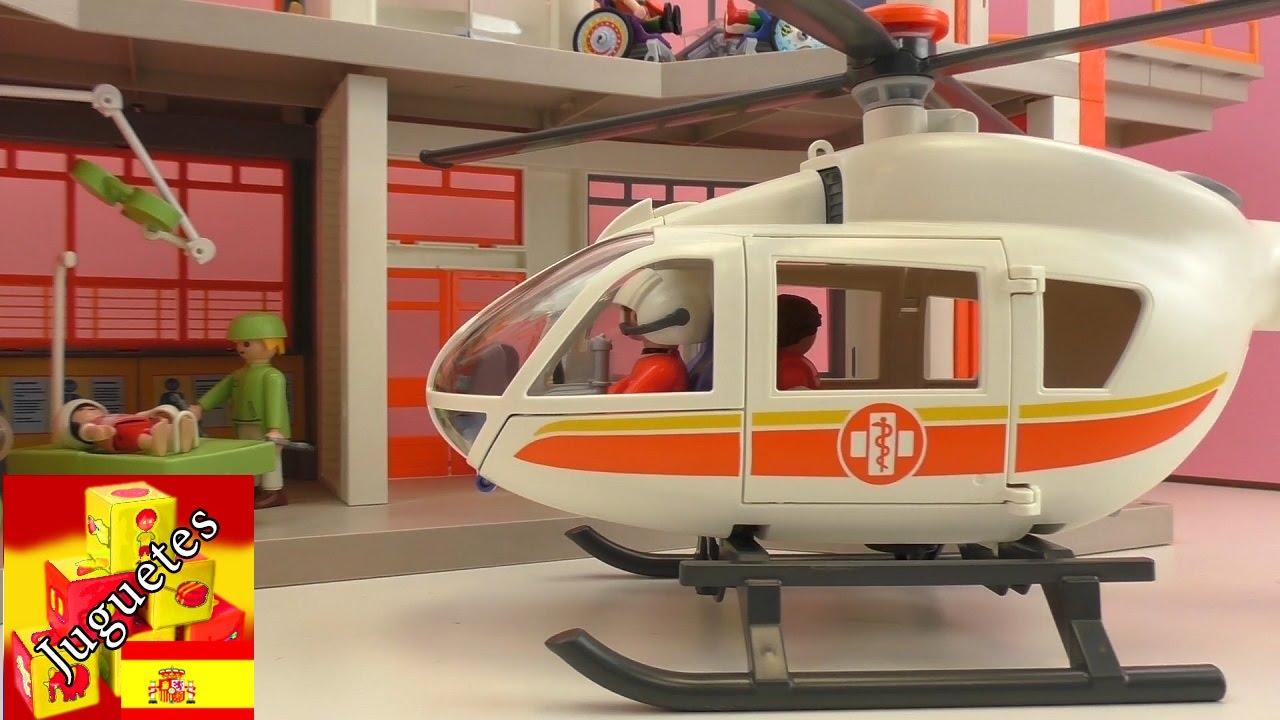 Demo helicoptero de emergencias de playmobil for Helicoptero playmobil