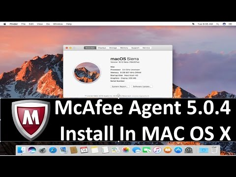 mcafee for mac os x