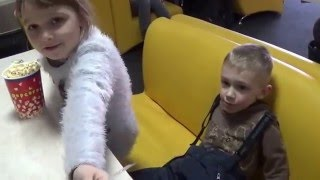 НАСТЯ идёт в кинотеатр  на мультик ИВАН ЦАРЕВИЧ И СЕРЫЙ ВОЛК 3Д  NASTYA goes to the cinema
