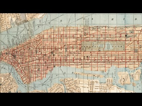New York City Historical Geography (1893-1894)
