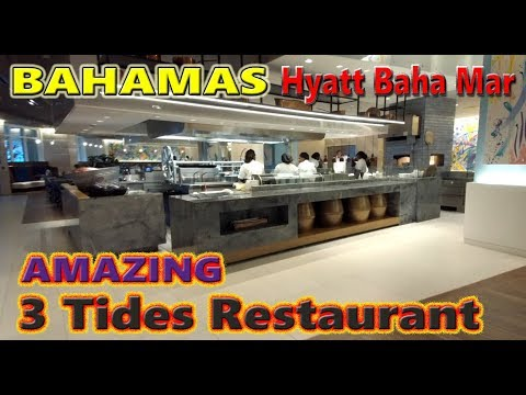 3 Tides Restaurant Baha Mar Bahamas Nassau July 9-16 2018