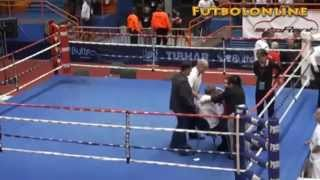 Suspenden de por vida a un boxeador tras agredir a un árbitro en campeonato europeo