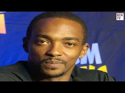Anthony Mackie Interview MCM London Comic Con 2017