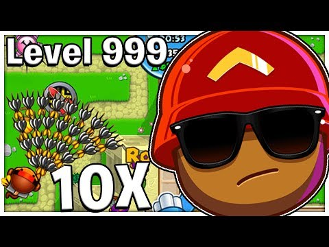X10 Super Monkey Tower Mod - Bloons TD Battles Mod | JeromeASF