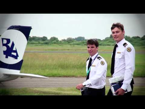 Baltic Aviation Academy: Before flight routine of student pilot