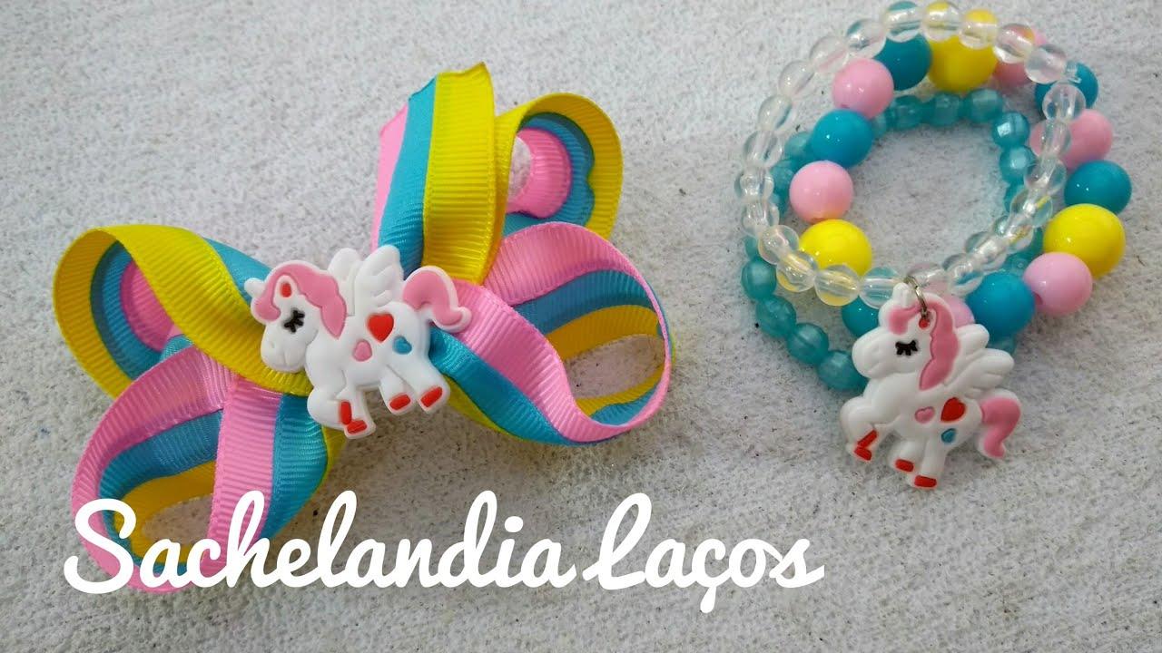 6ead4811e38339 Laço com kit de pulseiras. Dica para aumentar as vendas