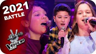 Marteria, Yasha & Miss Platnum - Lila Wolken (Rio/Amy/Lenny) | The Voice Kids 2021 | Battles