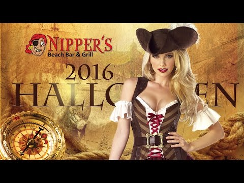 Halloween at Nipper's on Great Guana Cay, Abaco, 2016