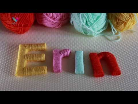 DIY Decorative Letters Home Made How Is Made