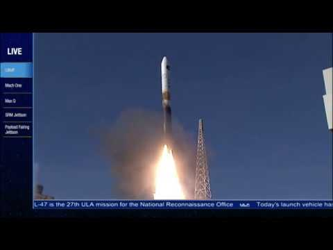 Spy Satellite Launched Atop Delta IV Rocket