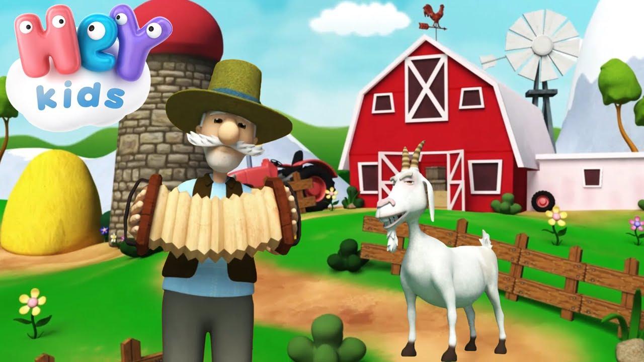 Във Фермата На Село 🐐 Песни про животных для детей - HeyKids