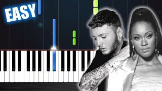 Shontelle James Arthur Impossible EASY Piano Tutorial by PlutaX