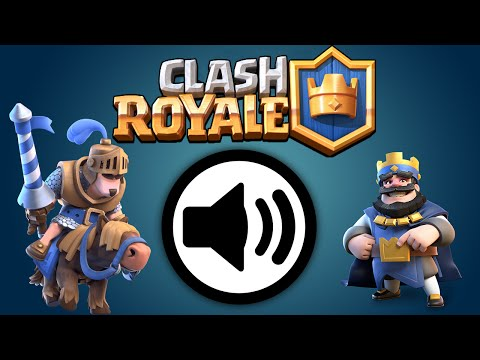 Clash Royale | ALL Troop SOUNDS | Sound Effects