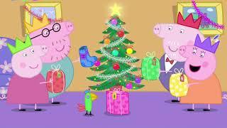 Peppa Pig English Full Episodes - Santa's Visit | Cartoon For Kids
