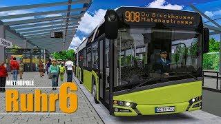 OMSI 2: Metropole Ruhr #6: Durchs Industriegebiet mit dem Solaris Urbino 18 IV!   BUS-SIMULATOR