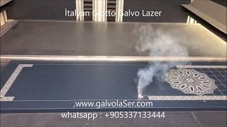 Çelik Kapı Panel İşleme Galvo Lazer 05337133444