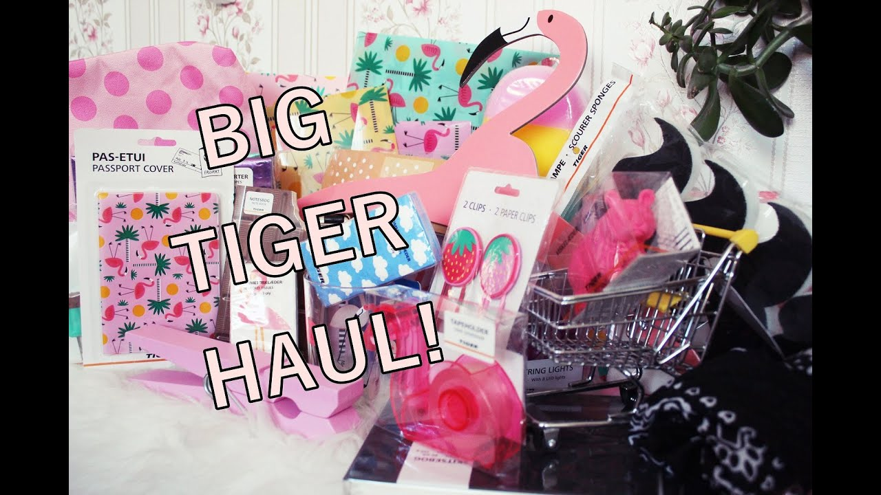 BIG TIGER HAUL! zakupy! [anna koper]