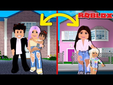 WE DID A FAMILY SWAP FOR 24 HOURS  | Roblox Roleplay | Bloxburg Family