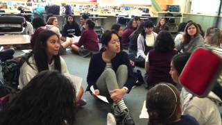 Ice Breakers Between Spanish Students And Japanese Visitors