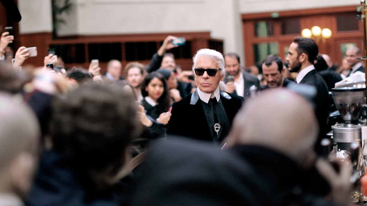 Karl Lagerfeld's Interview - Fall-Winter 2015/16 Ready-to-Wear CHANEL show