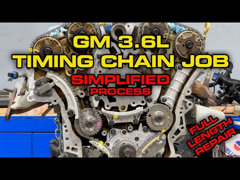 How To Replace Timing Chain On Chevy / GM 3.6L V6 – Full Length Removal and Install – With Tips!