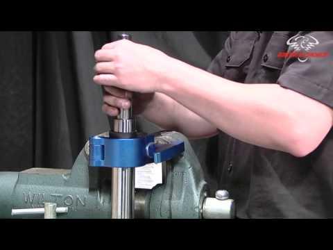 Progressive Suspension Mono Front Fork Kit Install on Harley Davidson  Street Glide
