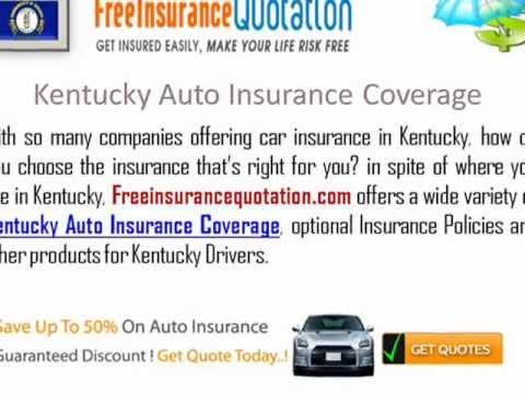 Kentucky  Auto Insurance Company - Kentucky Car Insurance Quote