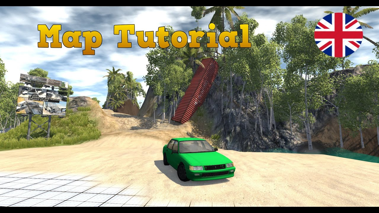 [Tutorial] How To Create Your Own Map For Beamng drive [50 Subs Special]