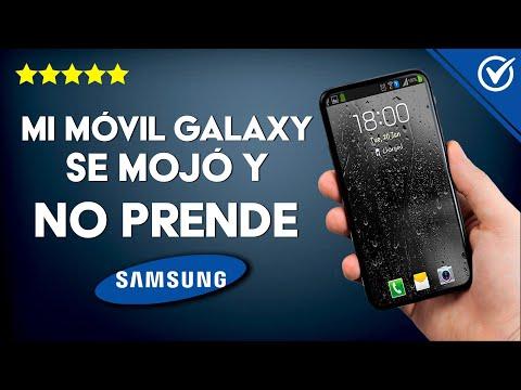 'Samsung Galaxy se mojó y no Prende' - Solución Definitiva