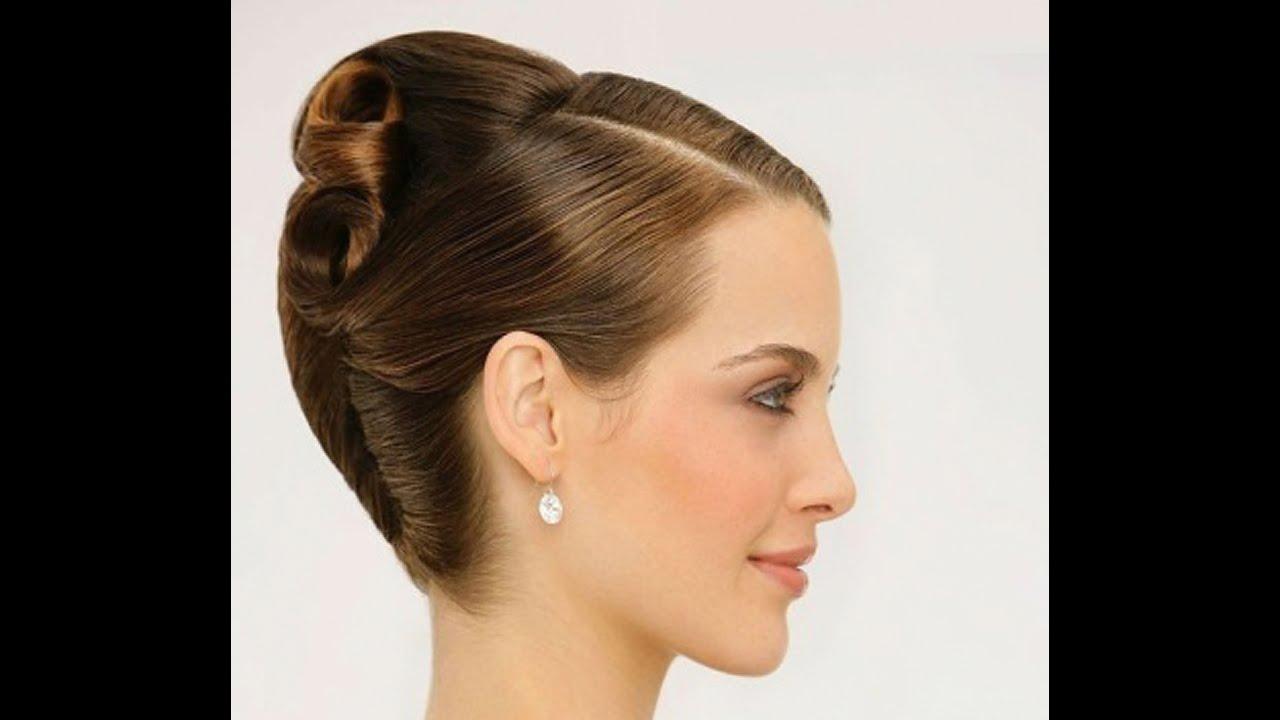 Прическа ракушка видео на средние волосы