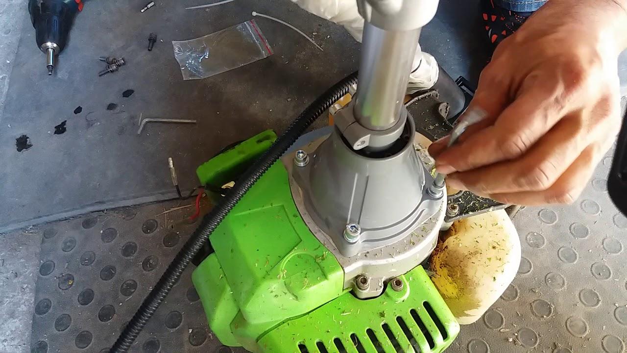 Монтаж лодочный мотор на мотокосу ТАТРА ГАРДЕН